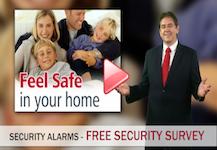 Security alarm Button