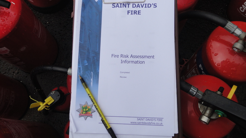 fire risk assess use